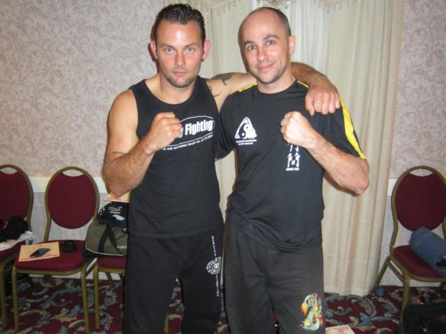 Com o amigo Dieter Casier