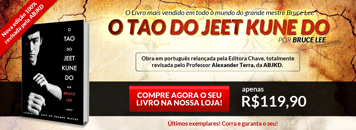 Relançamento Tao of Jeet Kune Do